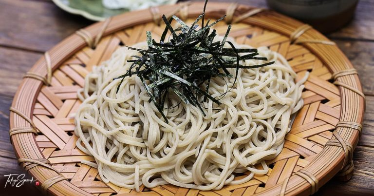 What is soba noodles in Japan?