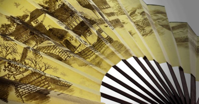 Sensu - Japanese paper folding fan