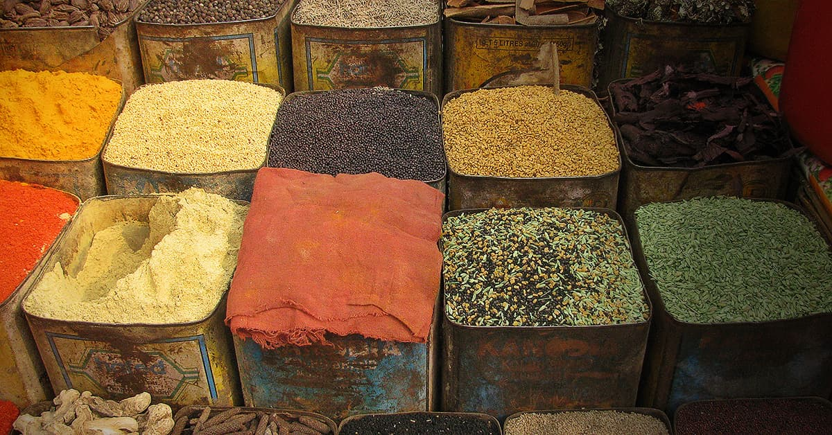 Spices for spicy food